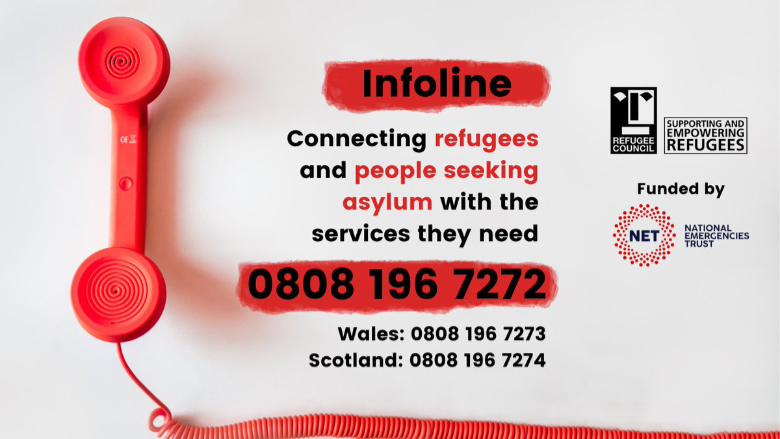 Refugee Council launches Infoline for Refugees and Asylum Seekers