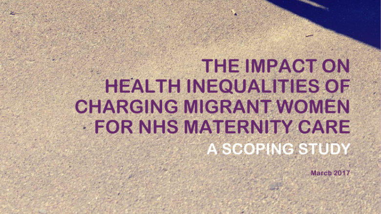 Maternity Care Charging Impact Report