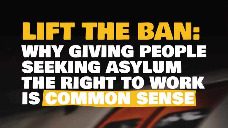 Lift the Ban: Common Sense